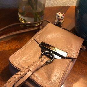 Kooba Dionne Leather Cross Body Phone Bag NWOT